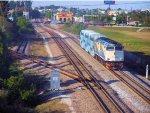 TRCX 807 Pushing Florida Tri-Rail Train P630