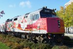 VIA 6445 on Canadian Football League Grey Cup Train