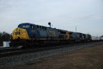 CSX 637 leads more trailers west.