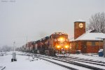 Northbound BNSF Intermodal Train