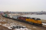 Eastbound UP Yard Job Train