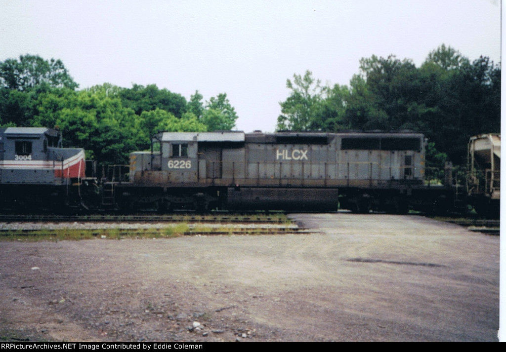 HLCX 6226 (Cab roof extension still intact)