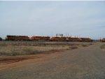 BNSF ES44C4s 6960, 7105, 7103, 7101 & 7104