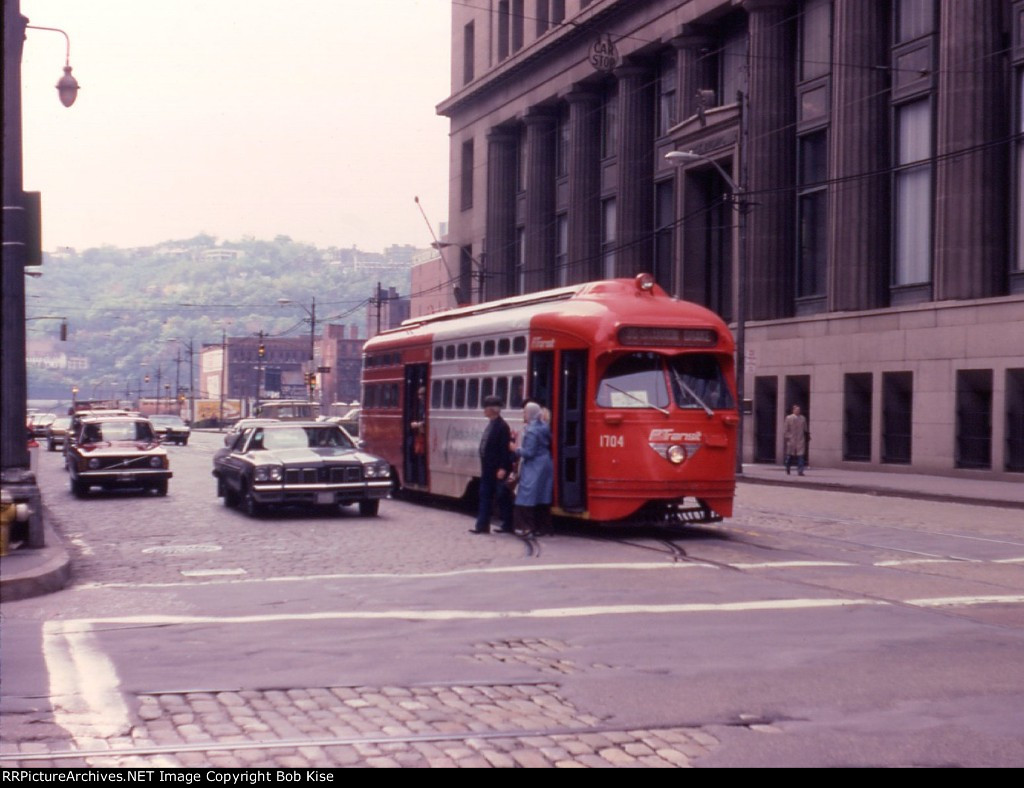 Pittsburgh trolley