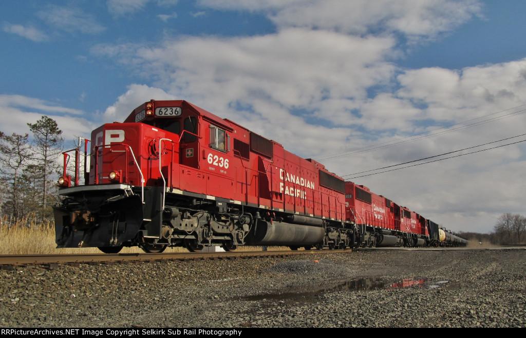 CP SD60s Leading CSX K635