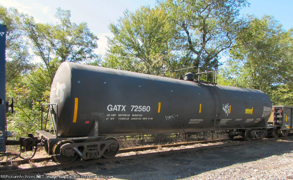 GATX 72560