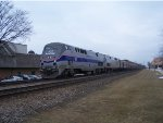 Amtrak Heritage 184 leading the Empire Builder