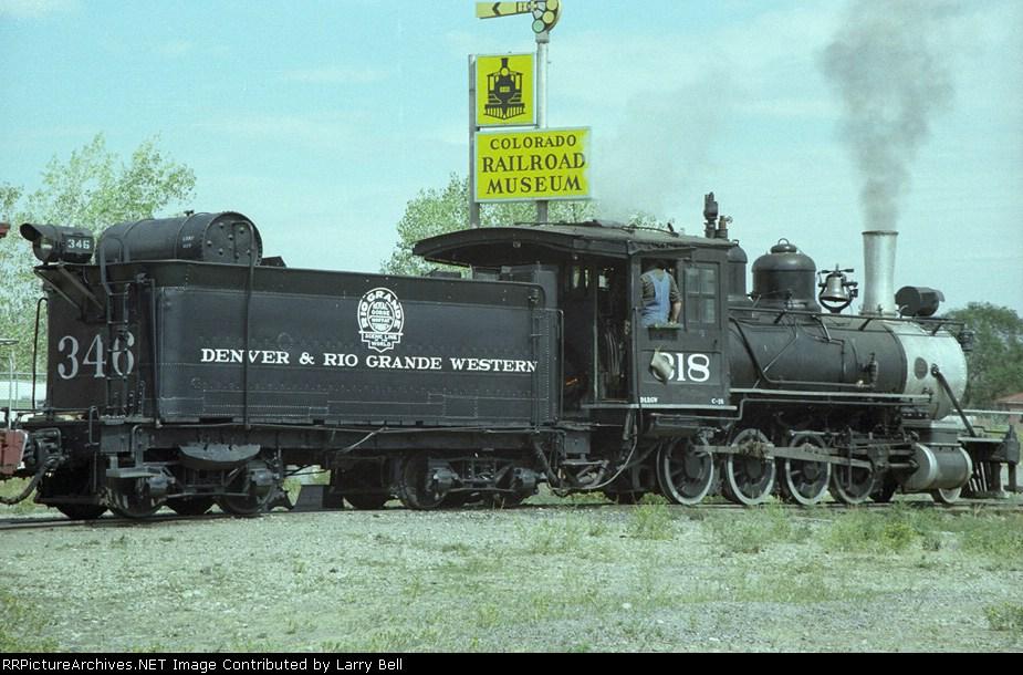 Denver & Rio Grande Western 318