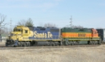 BNSF 2782 and 2835