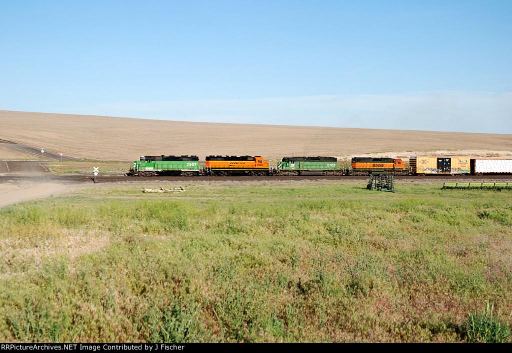 BNSF 2907