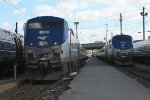 Amtrak 712 and 704 at SSY