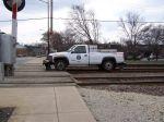 Track truck, Hy-railer, pickup on wheels, whatever you want