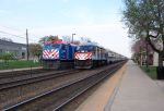 Older/new Metra power meet