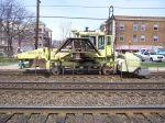Metra Sweeper/ballast pusher