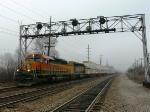 Q train eastward