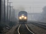 Amtrak head-on