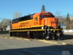 BNSF 3124 GP50 new paint scheme
