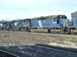 MRL 364 SD45 along with MRL 4304 SD70ACe