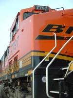 BNSF 7797 ES44DC detail shot