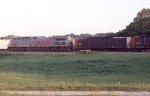 KCS 2033 DPU on coal train