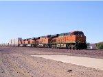 BNSF 7411 EB Intermodal