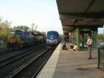 "Amtrak 283 ""Empire Service"" and CSX Q377-03"