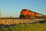 BNSF 5746 Is seen heading Nb into town.
