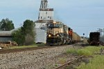 BNSF 9675 Looking more like a Bn empty coal train!!