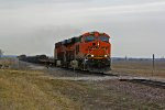 BNSF 6820 Rounds the curve.