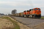 BNSF 6129 Leads a Coal load Sb.