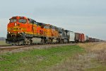 BNSF 4741 Heads the MemGal Nb.