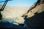 BNSF 967 PAS-TAC Entering Yakima River Canyon, pic#1