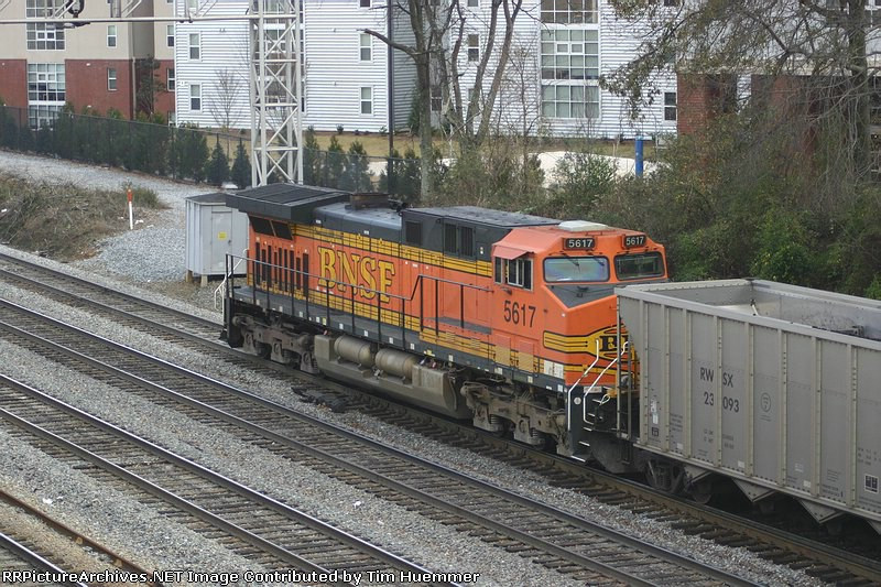 Pusher on a Wyoming bound coal train
