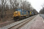 CSX 762 & 394 pull coal train