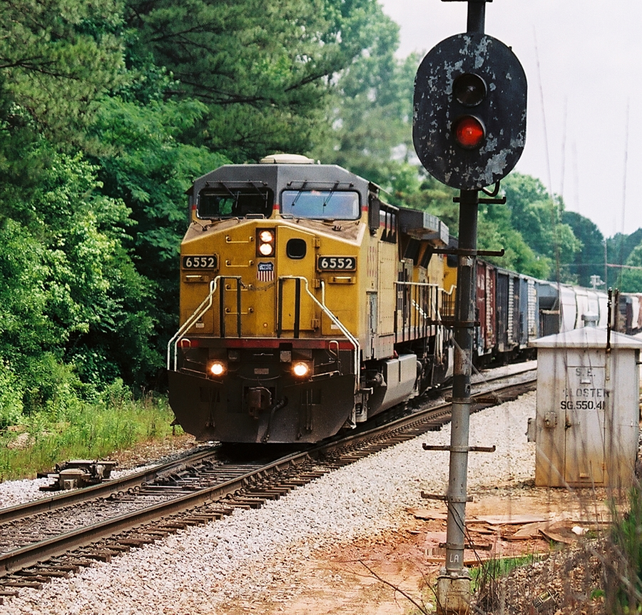 UP running south on CSX