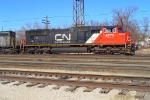 CN 5775 on BNSF train eastbound