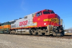 BNSF 681 east in bright ATSF colors