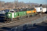 Short intermodal nears yard