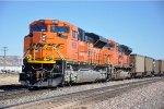 DPUs on eastbound empty coal train