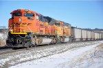 Coal loads roll south
