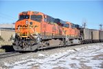 Empty coal train DPUs