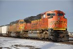 Coal loads wait to roll south