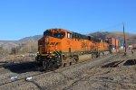 BNSF Stack Train at Bealville