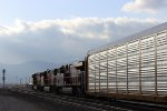 BNSF Autorack Train in Tehachapi