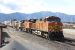 BNSF Stack Train in Tehachapi