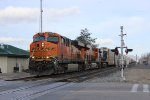 BNSF Vehicle Train in Tehachapi