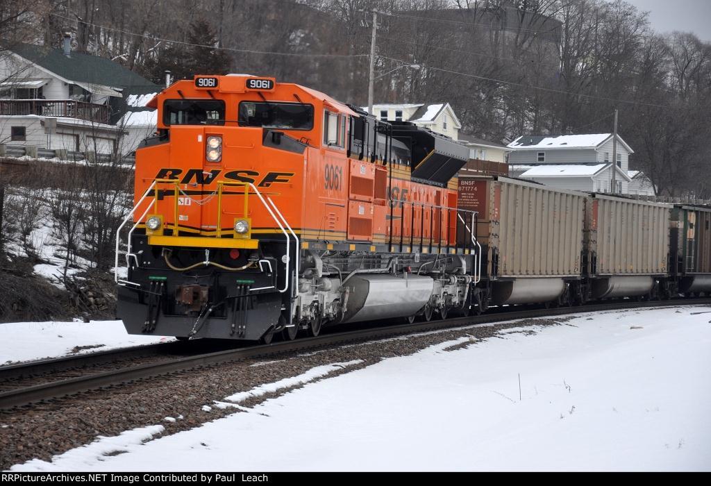 DPU on loaded coal train