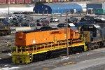 Big Orange Tunnel Motor