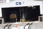 CSX 102 in the fuel plant