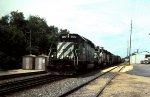 Loaded Grain Train